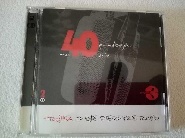 """Album 2 CD. """"40 przebojów na 40 lecie. Trójka. Twoje Pierwsze Radio"""""""