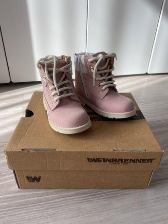 Weinbrenner junior 22 trapery nowe buty skóra Wiosna