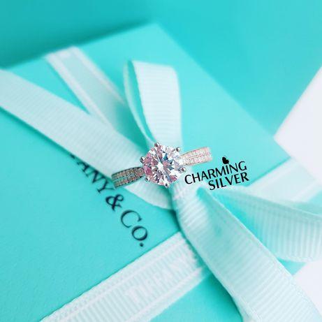 Серебряное кольцо Tiffany Тифани