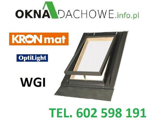 Wyłaz - okno - okna - dachowe - z kołnierzem - OptiLook T 46x55 - WGI