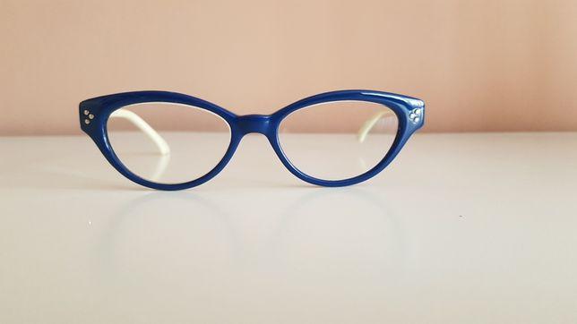 Okulary oprawki z soczewkami +1