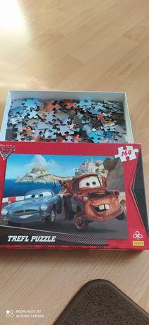 Puzzle 160 elementów 5+ Złomek z McQueen