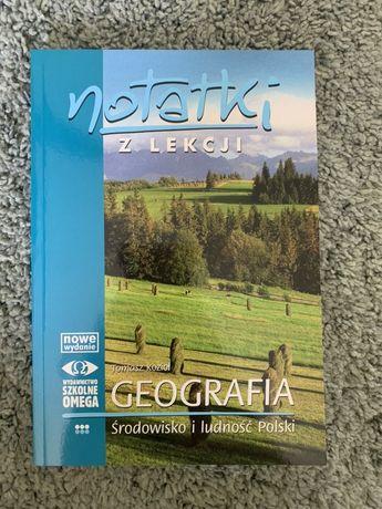 Notatki z lekcji Geografia Środowisko i Ludność Polski OMEGA zadania
