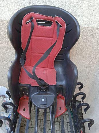 Fotelik rowerowy na klik montaż/demontaż