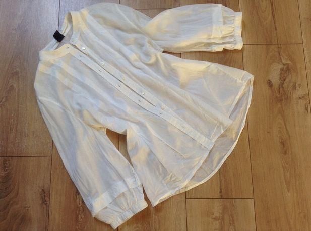 Biała elegancka koszula M Gap 38 marynarka