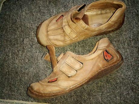 Спорт туфлі шкіряні кросівки натур кожа мокасины мешти хлопчику р.34
