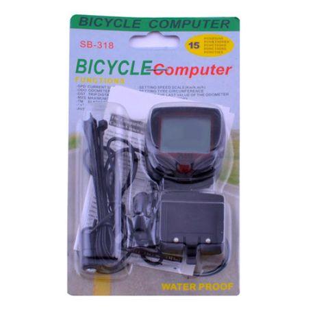 Велокомпьютер спидометр, одометр, часы SB-318