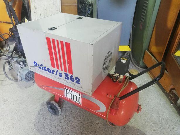 Итальянский компрессор 100 литра 12 бар 2.2kw