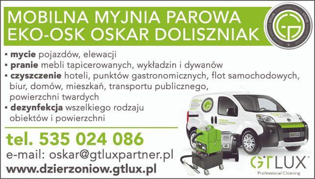 Czyszczenie Tapicerek, Powierzchni twardych / GTlux Dzierżoniów