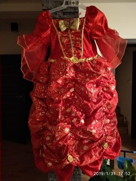 Kostium królewny księżniczki
