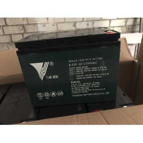 Тяговые аккумуляторные батареи 6-DZM-20, 12V 20Ah и 6-EVF-45, 12V 45Ah