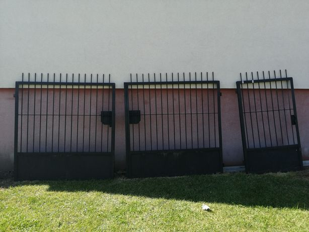 Brama wjazdowa dwuskrzydłowa + furtka