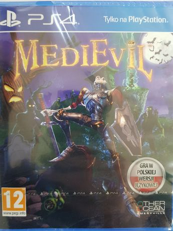 MediEvil PL PlayStation 4 PS4 Nowa Kraków