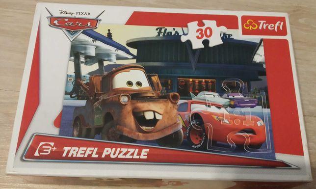 Puzzle auta 30 sztuk