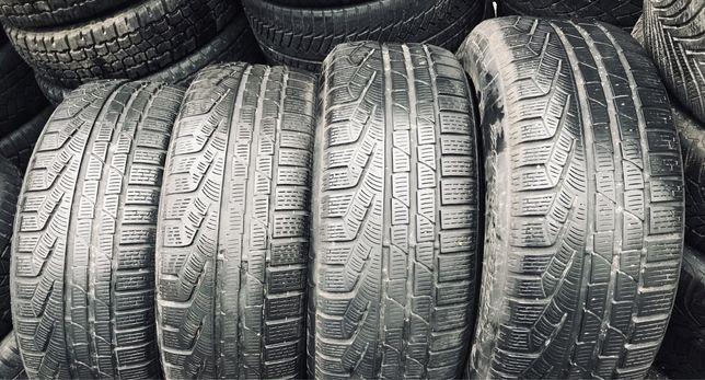 Pirelli 225/55r17 4 шт зима резина шины б/у склад