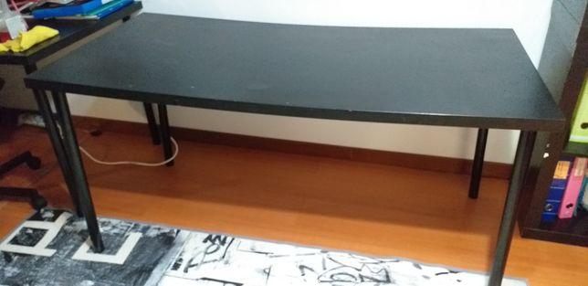 Secretária Ikea preta
