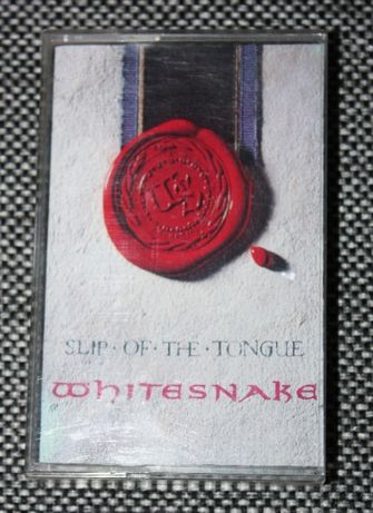 Kaseta magnetofonowa Whitesnake Slip of the tonque