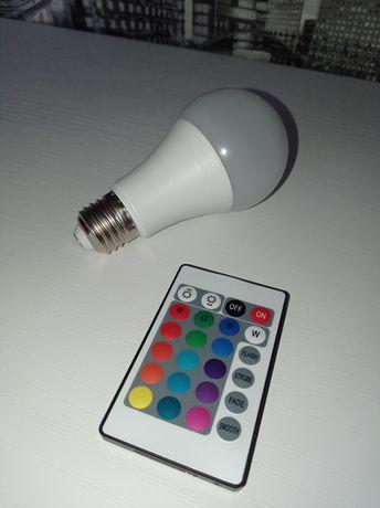 RGB лампа мощностью 15w
