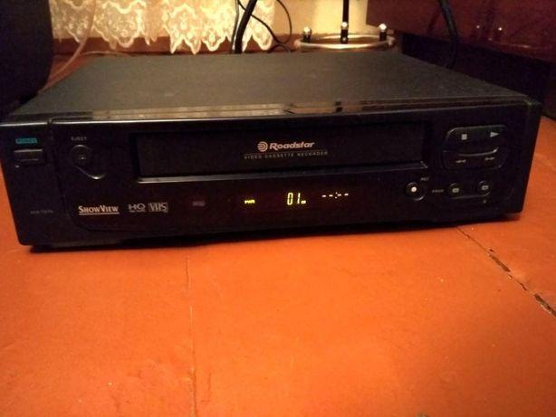 Відеомагнітофон видеомагнитофон Roadstar VHS HQ High Quality