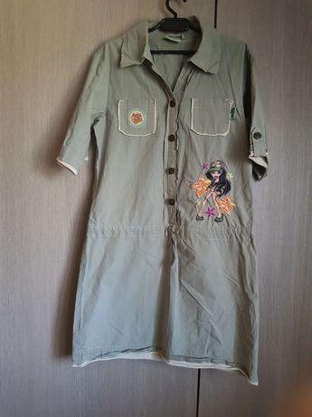 Dziecięca sukienka 152