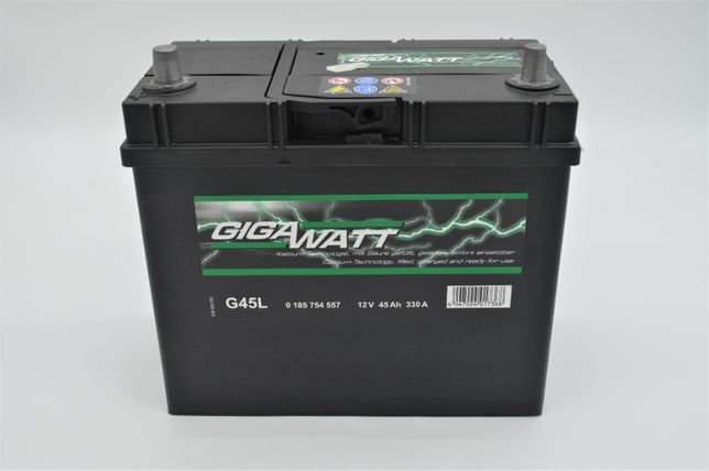 NOWY Akumulator 45AH 330A GIGAWATT japońska L+ F-VAT KRAKÓW