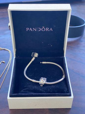 Браслет Pandora с бусиной