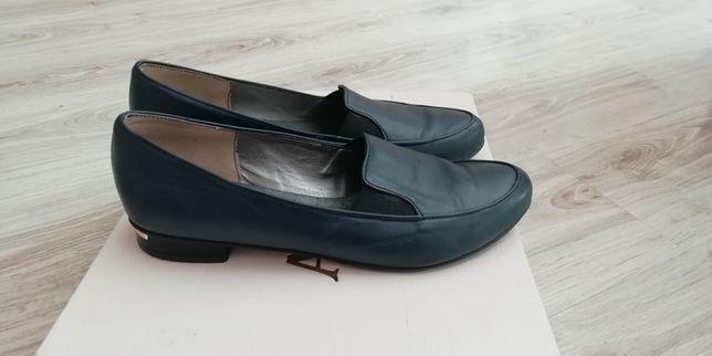Buty skórzane mokasyny polski producent