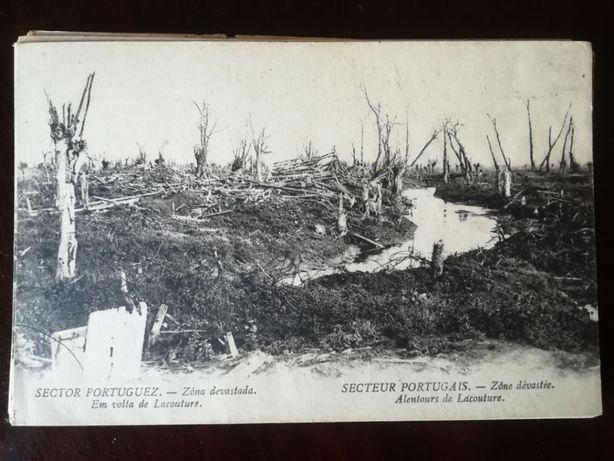 Postais antigos da guerra 1914/1918