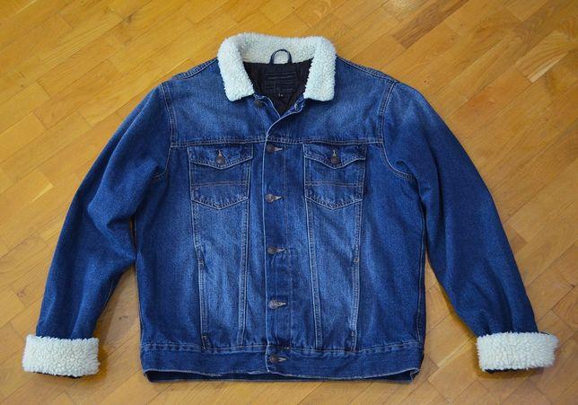 Джинсовая куртка р.XL