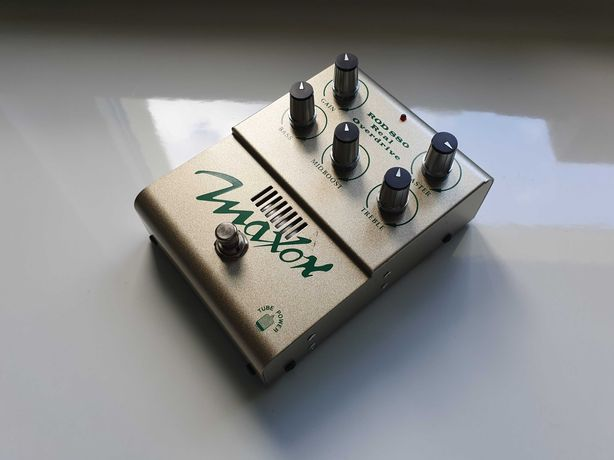 Maxon ROD-880 Overdrive, lampa - Made in Japan !