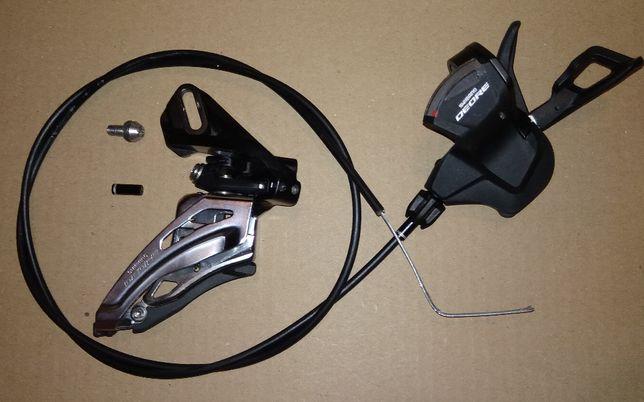 przerzutka manetka lewa przednia Shimano Deore FD-6020 SS SL-M6000