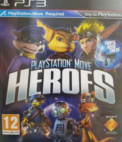 Herosi PlayStation Move PS3 PlayStation 3 Używana Kraków