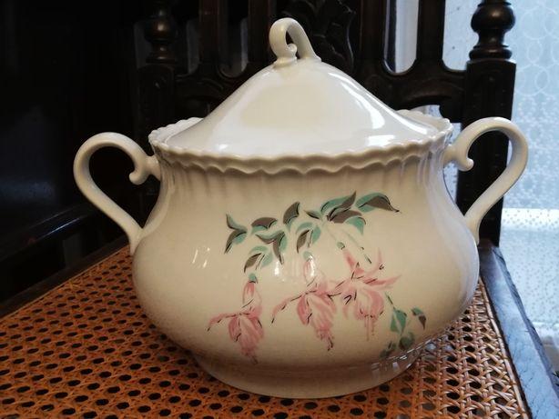 Sprzedam starą porcelanową wazę Bogucice - wzór 5