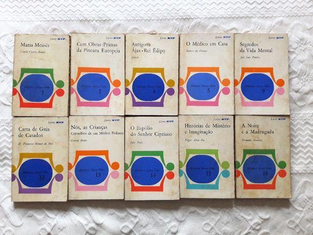 Lote de 10 Livros RTP