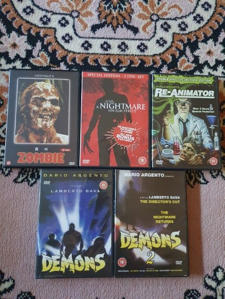 Klasyczne horrory DVD