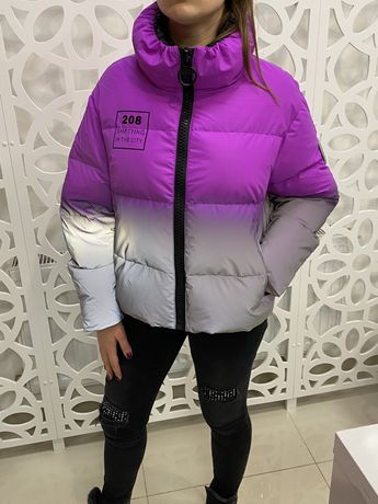 Куртка,пуховик MaxSwag рефлективная