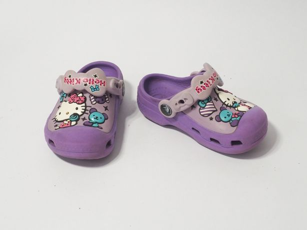 Klapki Crocks Hello Kitty 8 9