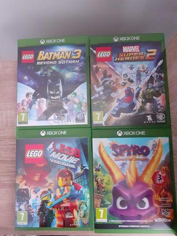 Gry Xbox One Lego Movie, Marvel Super Heroes, Batman 3, Spyro