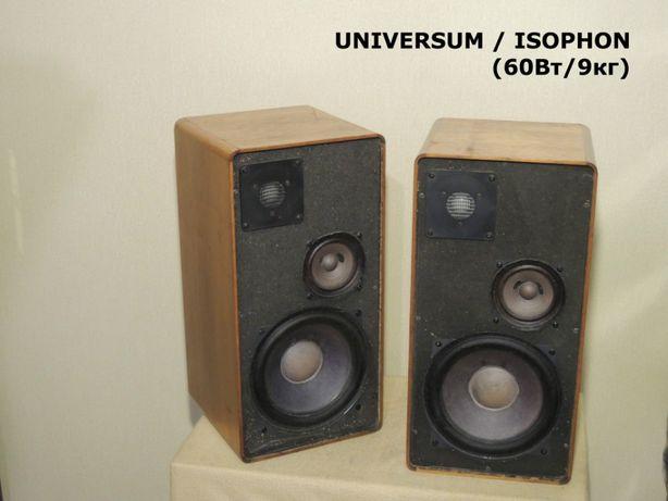 Аудиофильская 3-х полосная HI-FI акустика UNIVERSUM / ISOPHON (ЗВУК!)