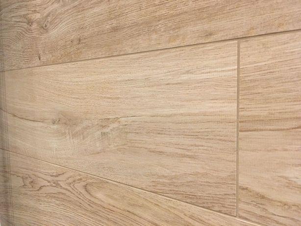 Płytka gresowa imitująca drewno 20x120 cm (2 sztuki)