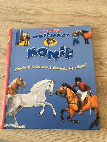 """Książeczka"""" KONIE"""" dla dzieci od 3 roku."""