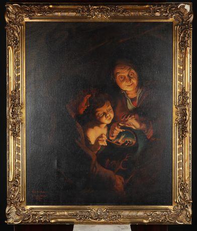 Kopia obrazu Rubensa duzy format olej na płótnie
