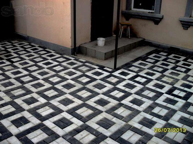 Плитка тротуарная - самая долговечная