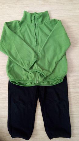 Bluza i spodnie polarowe H&M, 98/104