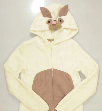 kostium przebranie piżamka polar piesek S