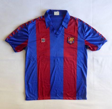 Camisola de jogo FC Barcelona match worn Meyba anos 80