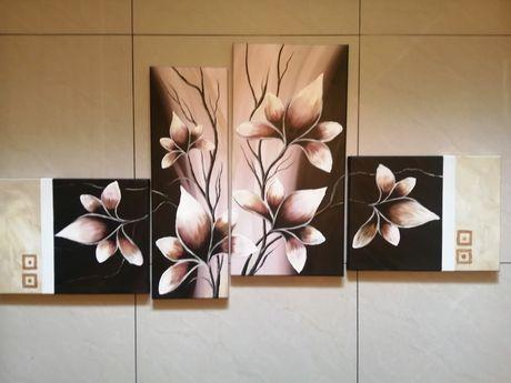 Tryptyk magnolie 130 cm