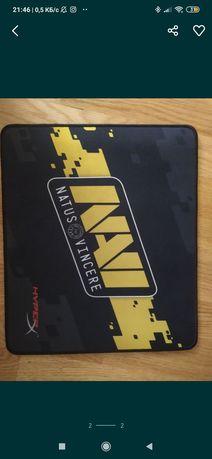 """Лимитированная серия ковров с логотипом """"Na'vi"""".hyperx fury S """"Na'vi"""