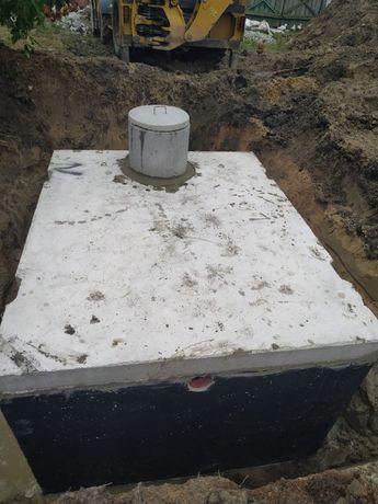 Szamba betonowe szambo zbiorniki zbiornik betonowy na deszczówkę 10m3
