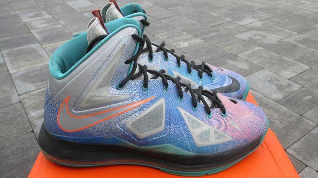 Nike Lebron X Pure Platinum rozm 47,5